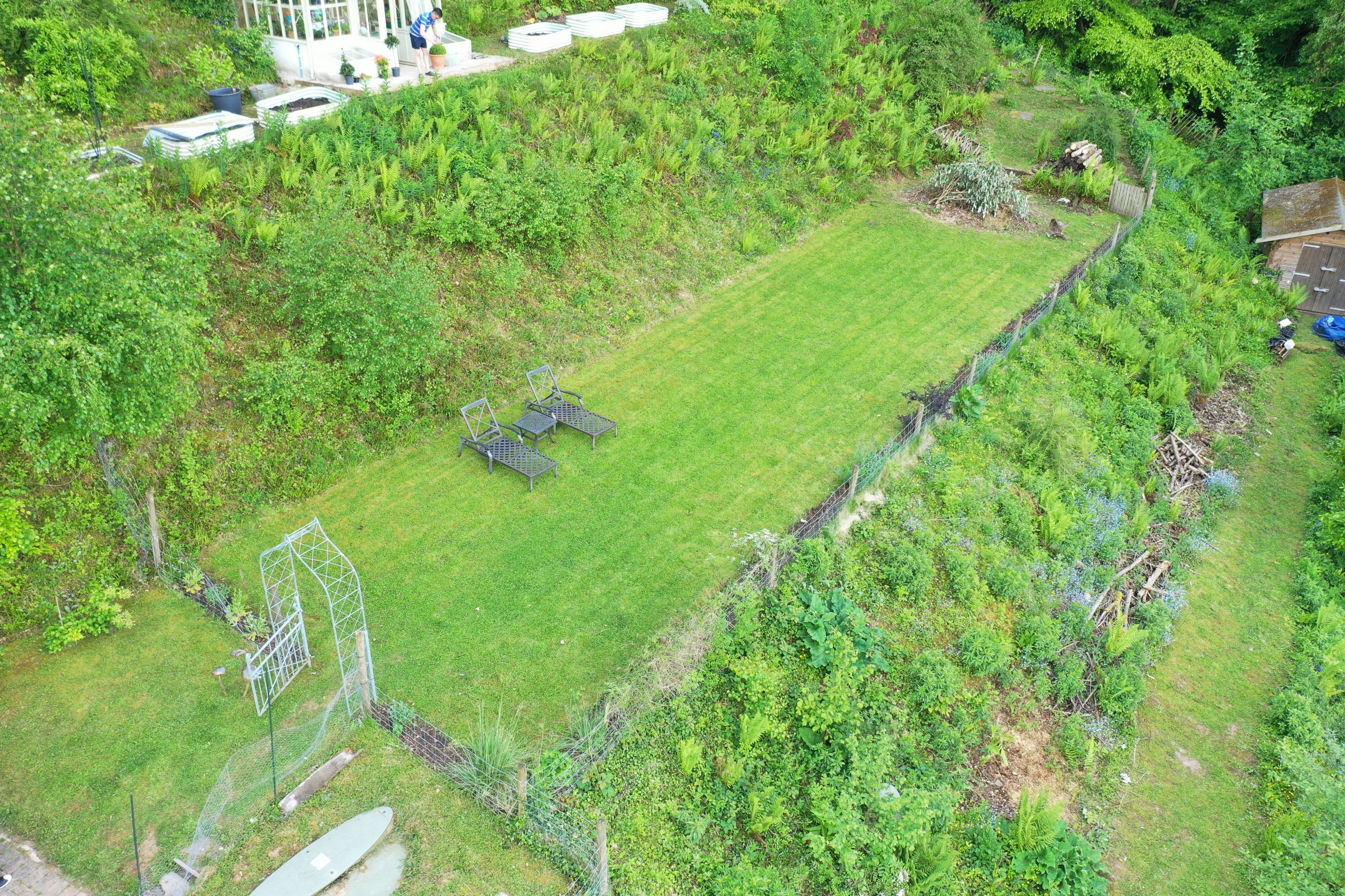 Aerial survey property herefordshire with certified drone pilot Luke Sutton 1 aerial drone inspection survey