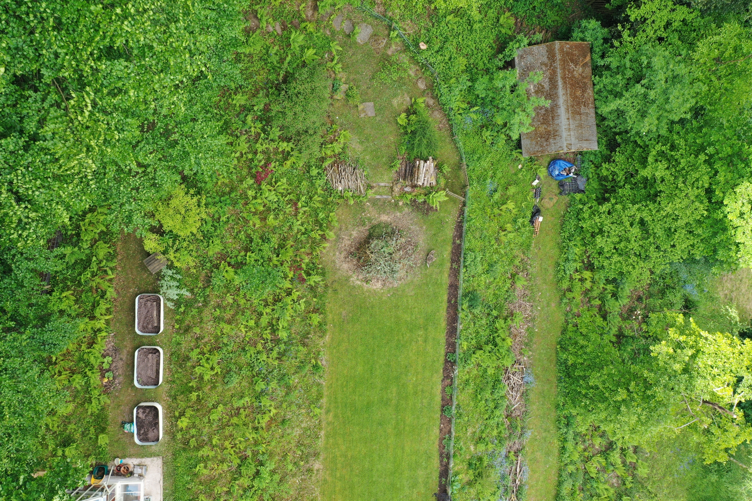 Aerial survey property herefordshire with certified drone pilot Luke Sutton 4 aerial drone inspection survey