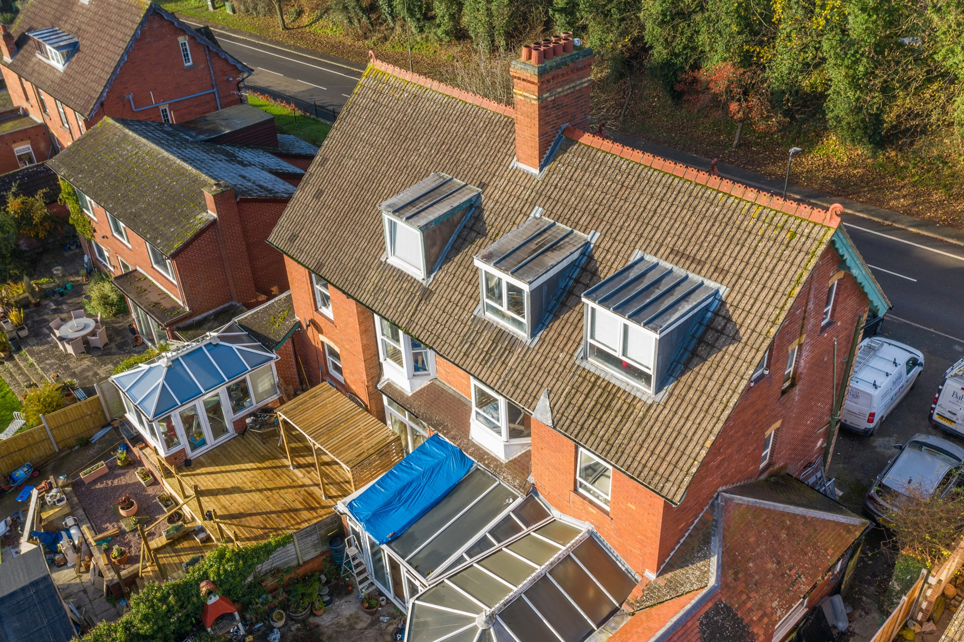 aerial photography roof inspection survey gloucestershire 3