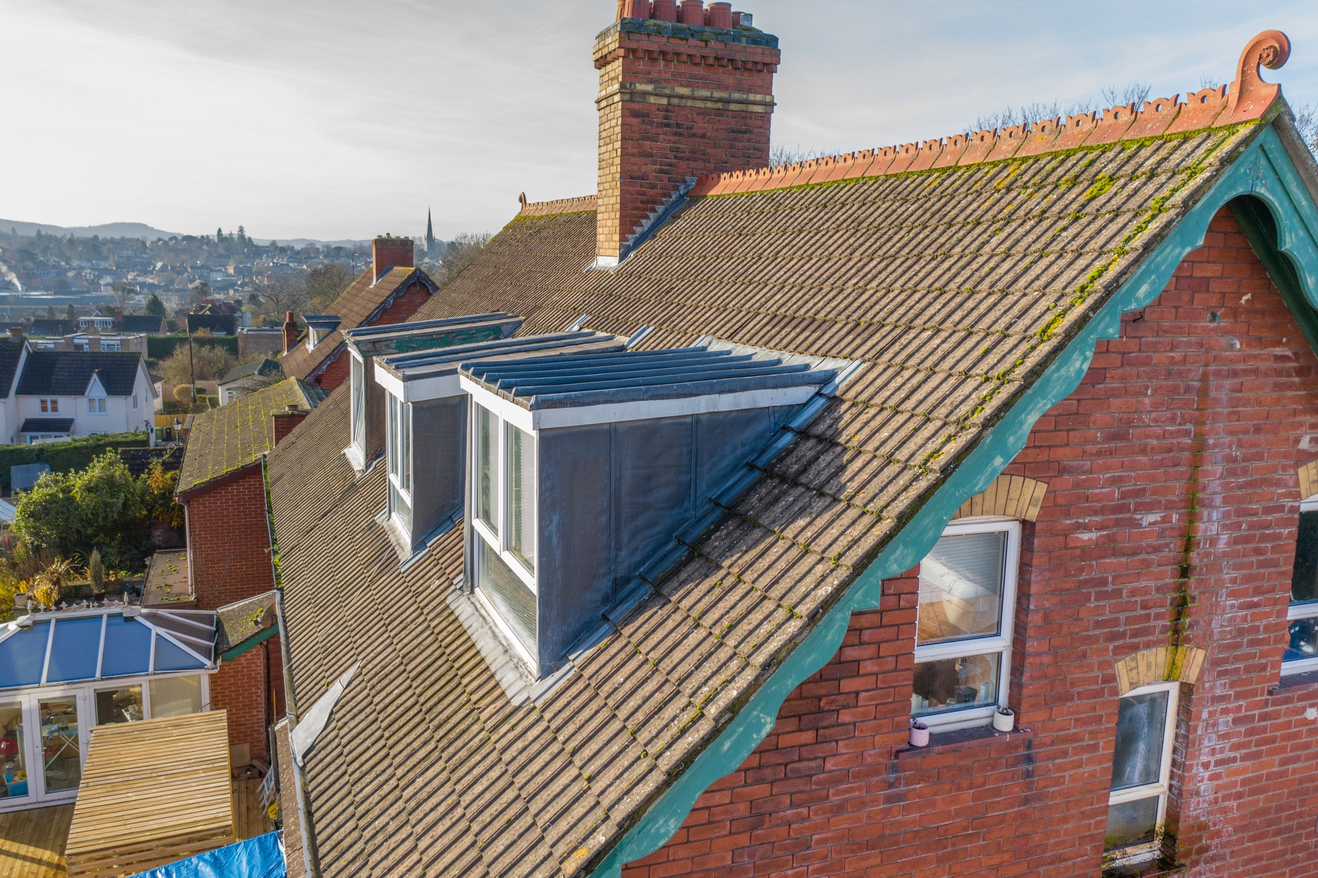 aerial photography roof inspection survey gloucestershire 6