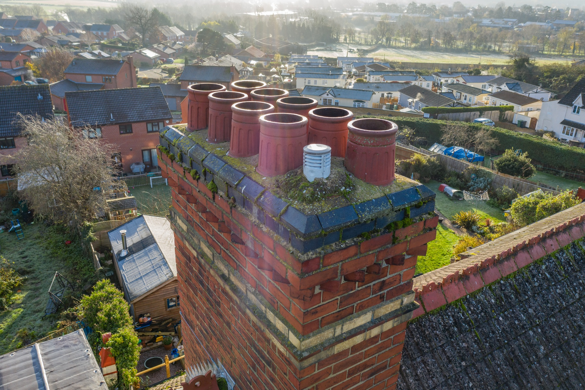 aerial photography roof inspection survey gloucestershire 8