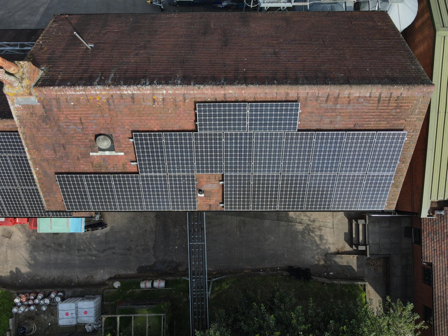 solar panel thermal survey hobsons brewery 0