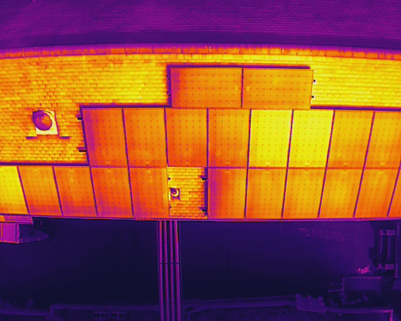 solar panel thermal survey hobsons brewery 1