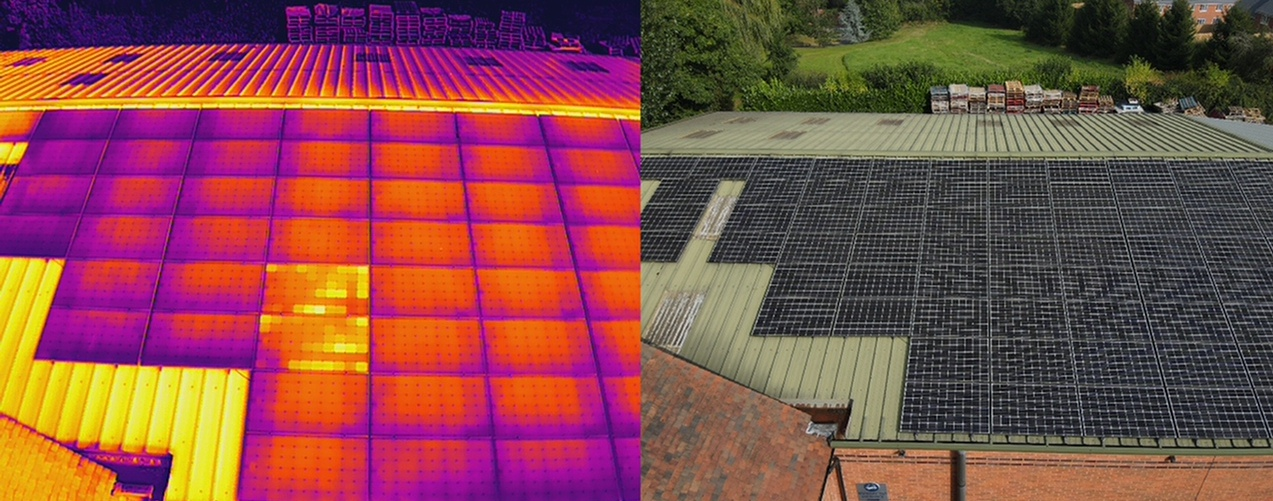 solar panel thermal survey hobsons brewery 2